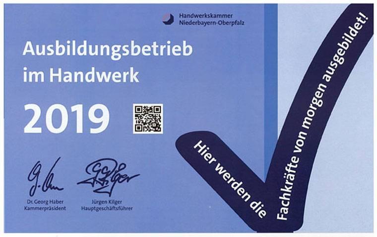 Ausbildungsbetrieb Kulzer Maler in Straubing