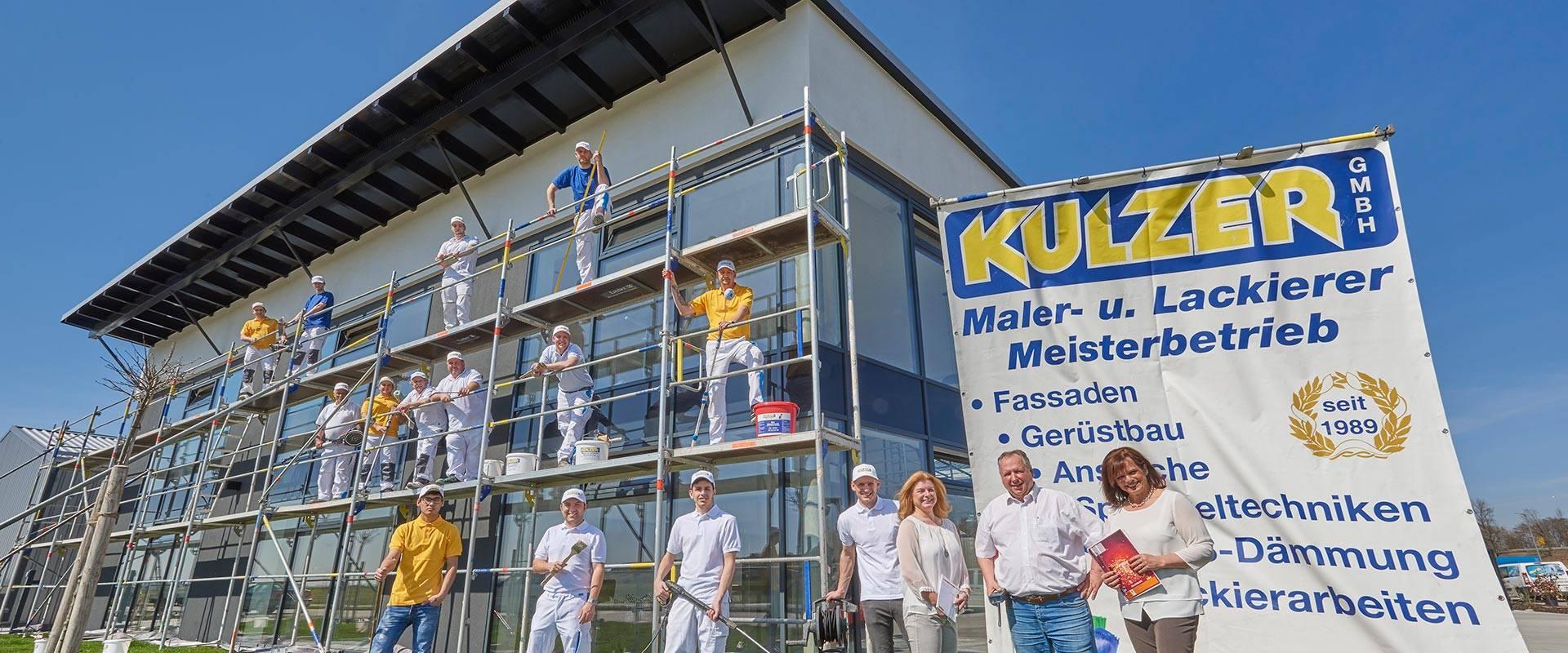 Das Team von Kulzer – Maler und Lackierer in Straubing